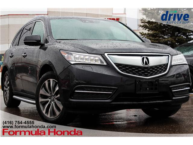 2016 Acura MDX Technology Package (Stk: B11021) in Scarborough - Image 1 of 23