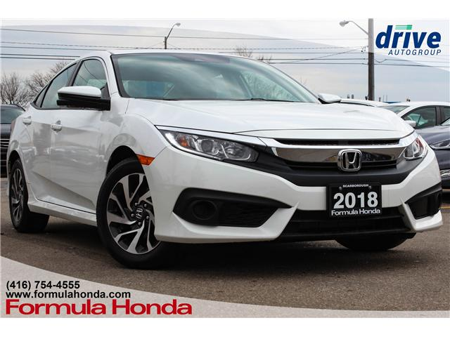 2018 Honda Civic EX (Stk: B11036) in Scarborough - Image 1 of 28