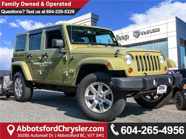 2013 Jeep Wrangler Unlimited Sahara (Stk: AG0928) in Abbotsford - Image 1 of 19