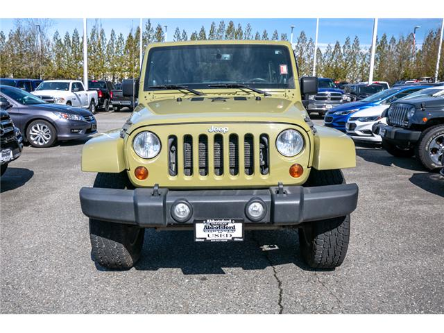2013 Jeep Wrangler Unlimited Sahara (Stk: AG0928) in Abbotsford - Image 2 of 19