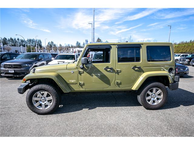 2013 Jeep Wrangler Unlimited Sahara (Stk: AG0928) in Abbotsford - Image 4 of 19