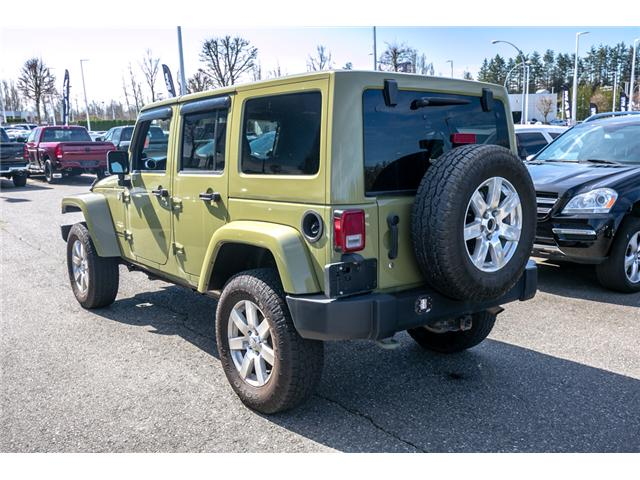 2013 Jeep Wrangler Unlimited Sahara (Stk: AG0928) in Abbotsford - Image 5 of 19