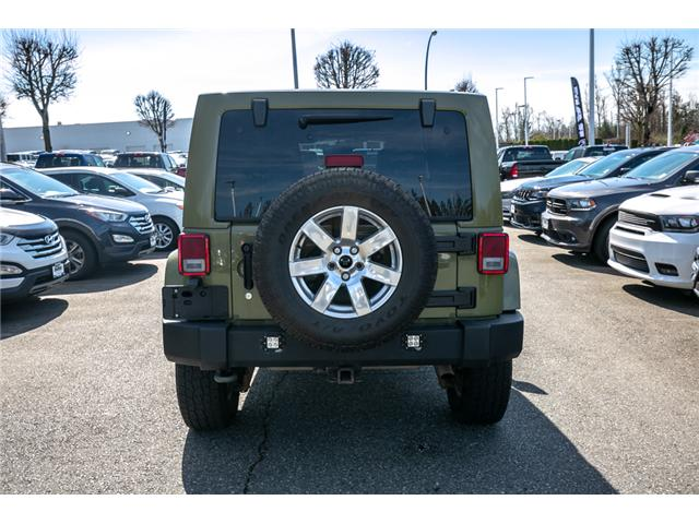 2013 Jeep Wrangler Unlimited Sahara (Stk: AG0928) in Abbotsford - Image 6 of 19