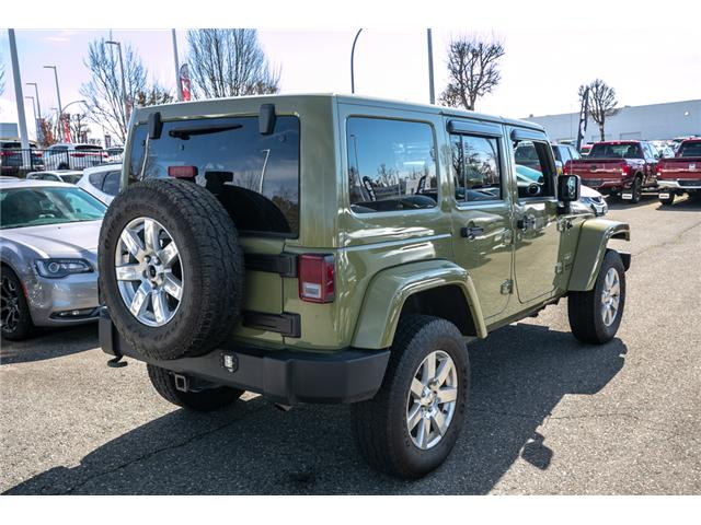 2013 Jeep Wrangler Unlimited Sahara (Stk: AG0928) in Abbotsford - Image 7 of 19