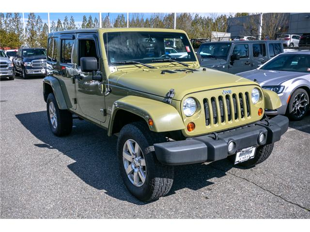 2013 Jeep Wrangler Unlimited Sahara (Stk: AG0928) in Abbotsford - Image 9 of 19