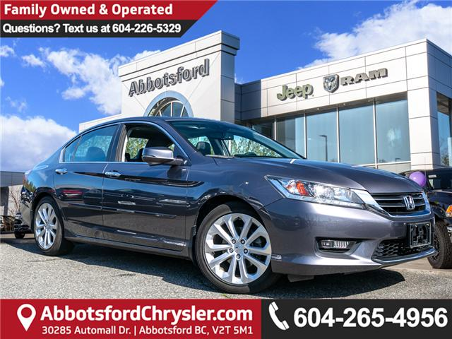 2014 Honda Accord Touring (Stk: K674321A) in Abbotsford - Image 1 of 22