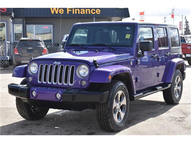 2017 Jeep Wrangler Unlimited Sahara (Stk: p36276c) in Saskatoon - Image 2 of 24