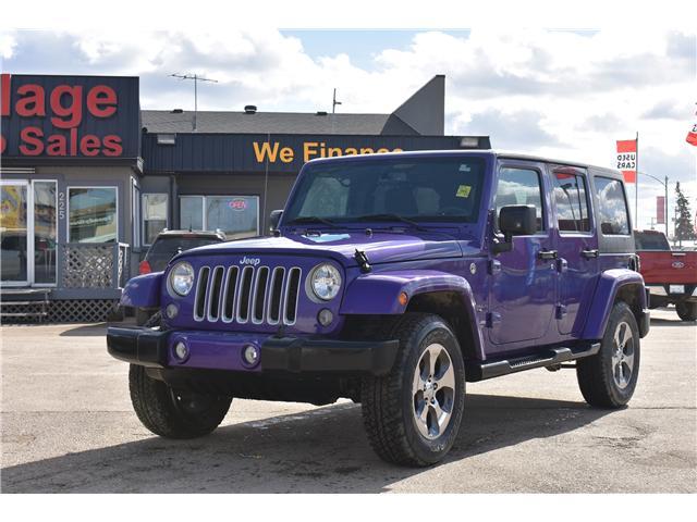 2017 Jeep Wrangler Unlimited Sahara (Stk: p36276c) in Saskatoon - Image 1 of 24