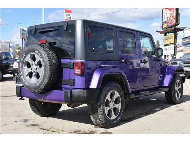 2017 Jeep Wrangler Unlimited Sahara (Stk: p36276c) in Saskatoon - Image 6 of 24