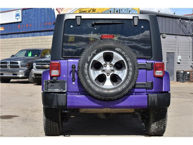 2017 Jeep Wrangler Unlimited Sahara (Stk: p36276c) in Saskatoon - Image 7 of 24