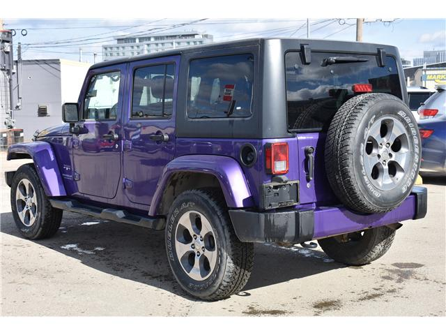 2017 Jeep Wrangler Unlimited Sahara (Stk: p36276c) in Saskatoon - Image 9 of 24