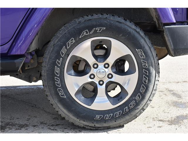 2017 Jeep Wrangler Unlimited Sahara (Stk: p36276c) in Saskatoon - Image 11 of 24