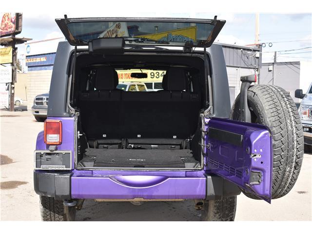 2017 Jeep Wrangler Unlimited Sahara (Stk: p36276c) in Saskatoon - Image 8 of 24