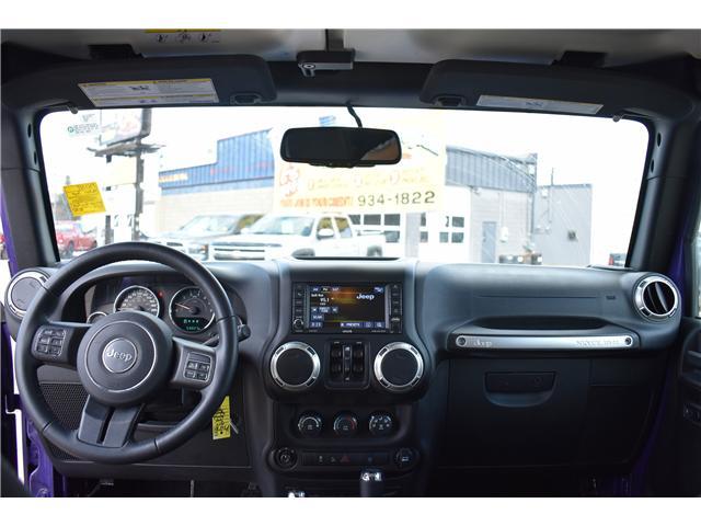 2017 Jeep Wrangler Unlimited Sahara (Stk: p36276c) in Saskatoon - Image 14 of 24