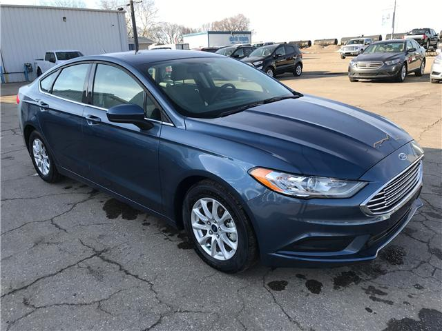 2018 Ford Fusion S (Stk: 8237) in Wilkie - Image 1 of 24