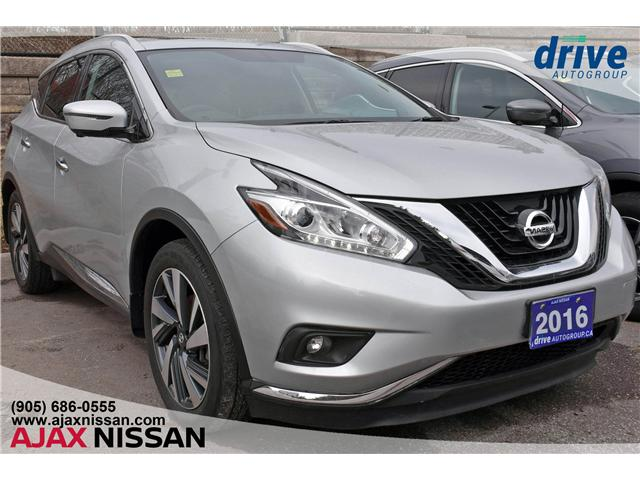 2016 Nissan Murano Platinum (Stk: P4095) in Ajax - Image 1 of 35