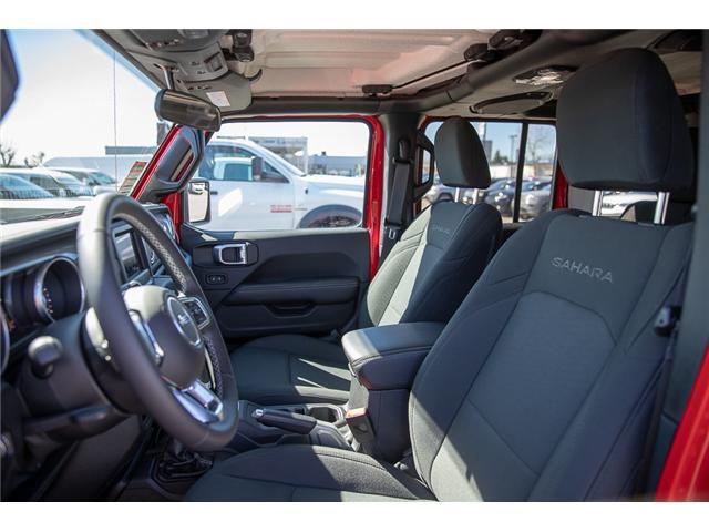 2018 Jeep Wrangler Unlimited Sahara (Stk: J153672) in Surrey - Image 8 of 26