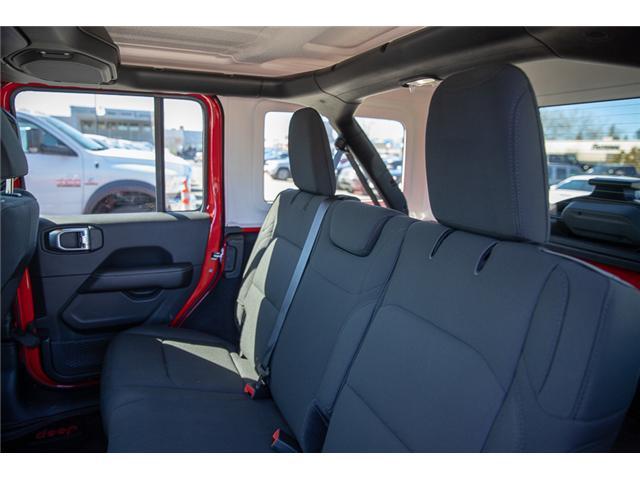 2018 Jeep Wrangler Unlimited Sahara (Stk: J153672) in Surrey - Image 11 of 26