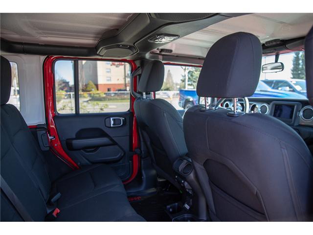 2018 Jeep Wrangler Unlimited Sahara (Stk: J153672) in Surrey - Image 15 of 26