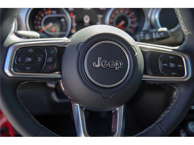 2018 Jeep Wrangler Unlimited Sahara (Stk: J153672) in Surrey - Image 19 of 26