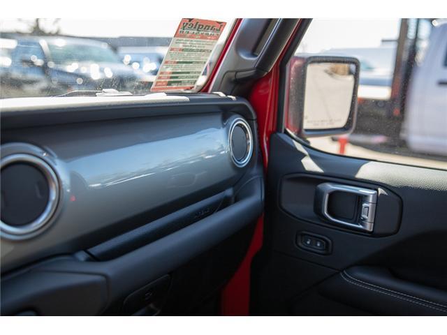 2018 Jeep Wrangler Unlimited Sahara (Stk: J153672) in Surrey - Image 25 of 26