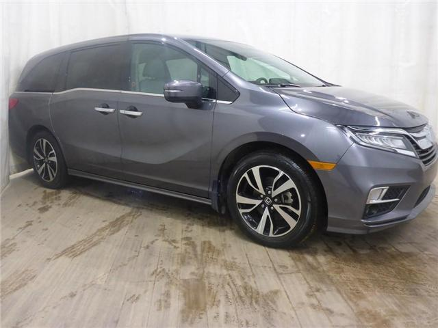 2018 Honda Odyssey Touring (Stk: 19031968) in Calgary - Image 1 of 28