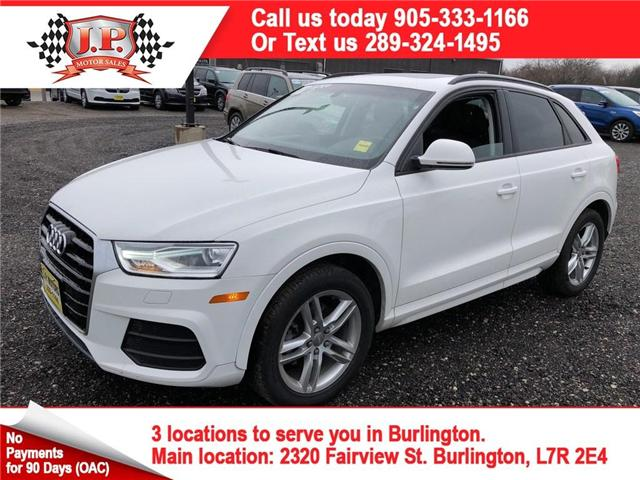 2017 Audi Q3 2.0T Komfort (Stk: 45591) in Burlington - Image 1 of 26