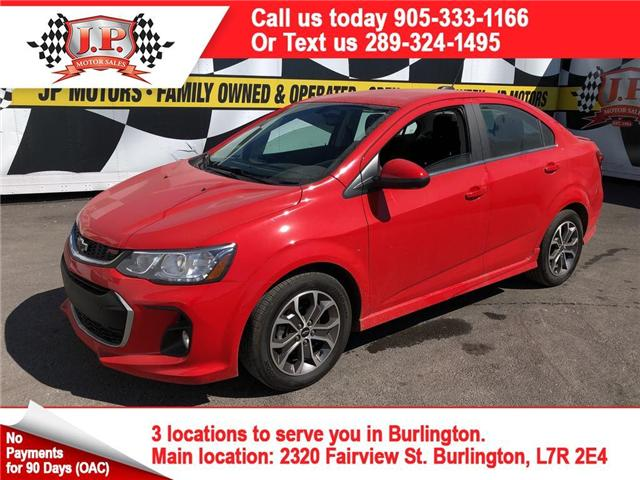 2018 Chevrolet Sonic LT Auto (Stk: 46491) in Burlington - Image 1 of 15