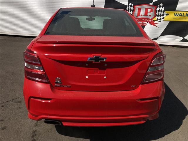2018 Chevrolet Sonic LT Auto (Stk: 46491) in Burlington - Image 8 of 15