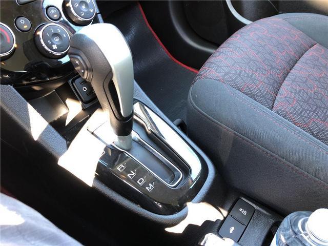 2018 Chevrolet Sonic LT Auto (Stk: 46491) in Burlington - Image 10 of 15
