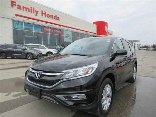 2015 Honda CR-V EX-L, LEATHER, ECO MODE! (Stk: 9109119A) in Brampton - Image 1 of 30