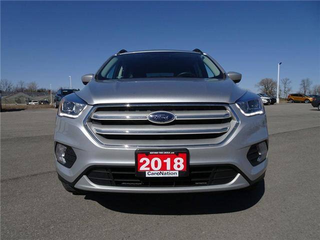 2018 Ford Escape SEL   AWD   NAV   PWR HTD LEATHER   PANO ROOF   (Stk: DR97) in Brantford - Image 2 of 43