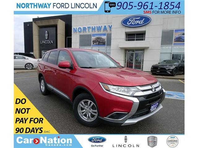 2017 Mitsubishi Outlander ES | AWD | HTD SEATS | BACKUP CAM | TOUCHSCREEN | (Stk: DR89) in Brantford - Image 1 of 30