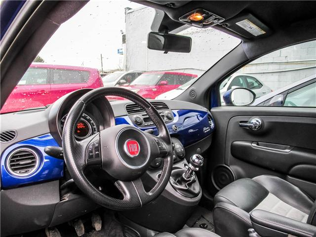 2012 Fiat 500 Sport (Stk: P488) in Toronto - Image 3 of 4