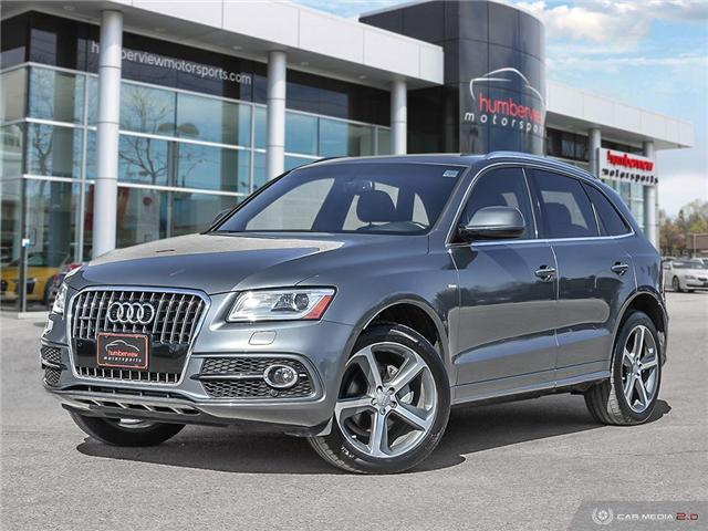 2017 Audi Q5 2.0T Technik (Stk: 19HMS119) in Mississauga - Image 1 of 27