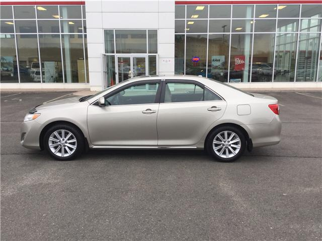 2013 Toyota Camry XLE (Stk: P206-19A) in Stellarton - Image 1 of 11