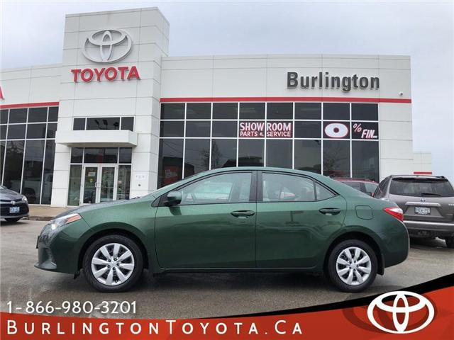 2015 Toyota Corolla LE (Stk: U10608) in Burlington - Image 1 of 18