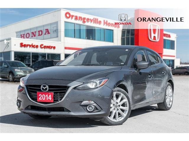 2014 Mazda Mazda3 GT-SKY (Stk: U3102) in Orangeville - Image 1 of 20
