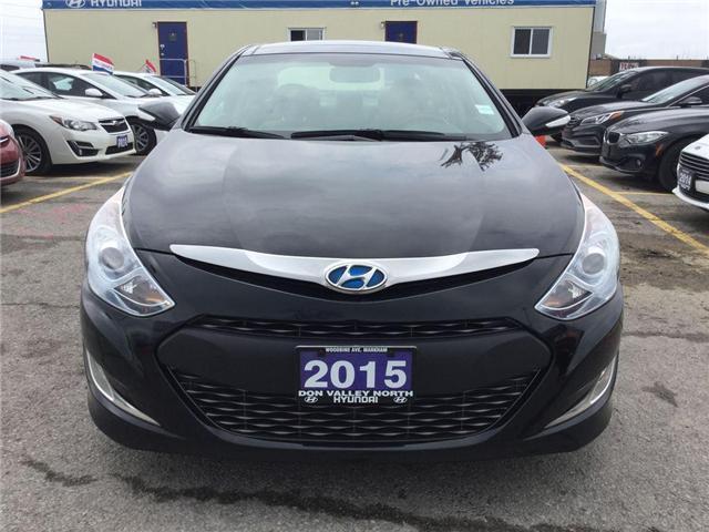 2015 Hyundai Sonata Hybrid Limited (Stk: 7602H) in Markham - Image 2 of 23