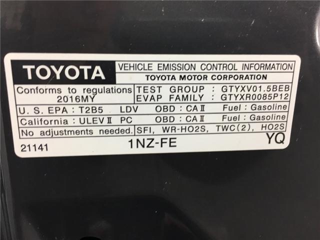 2016 Toyota Yaris LE (Stk: 34395J) in Belleville - Image 18 of 22