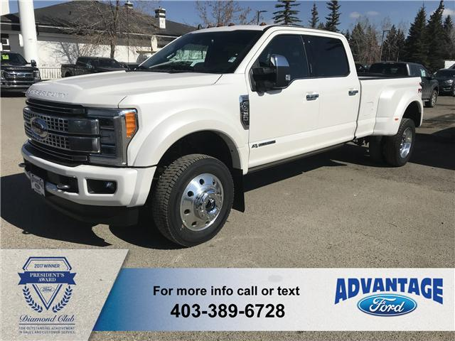 2019 Ford F-450 Platinum (Stk: K-057) in Calgary - Image 1 of 8
