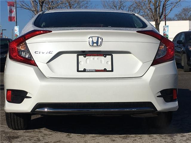 2019 Honda Civic LX (Stk: 19540) in Barrie - Image 4 of 12