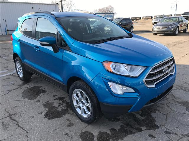 2018 Ford EcoSport SE (Stk: 8253) in Wilkie - Image 1 of 24