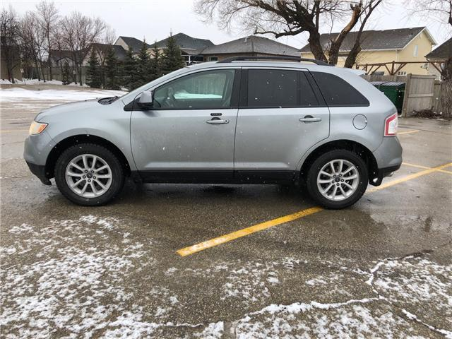 2007 Ford Edge SEL Plus (Stk: ) in Winnipeg - Image 5 of 24