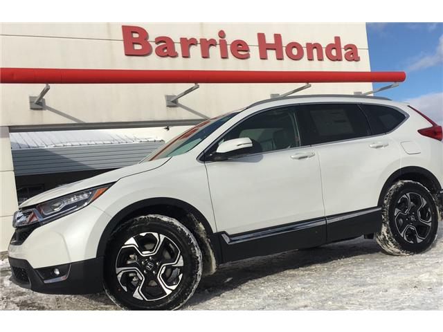 2019 Honda CR-V Touring (Stk: 19341) in Barrie - Image 1 of 18