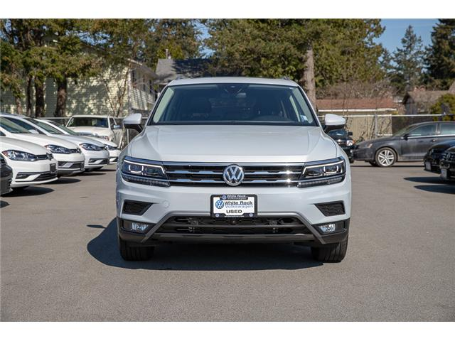 2018 Volkswagen Tiguan Highline (Stk: JA565475A) in Surrey - Image 2 of 30