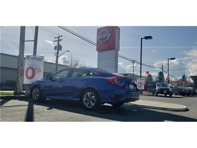 2016 Honda Civic LX (Stk: 9F8224A) in Duncan - Image 2 of 3