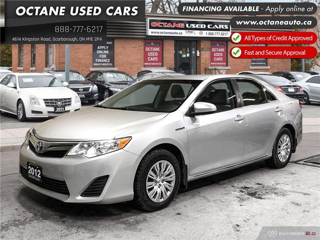 2012 Toyota Camry Hybrid LE (Stk: ) in Scarborough - Image 1 of 24