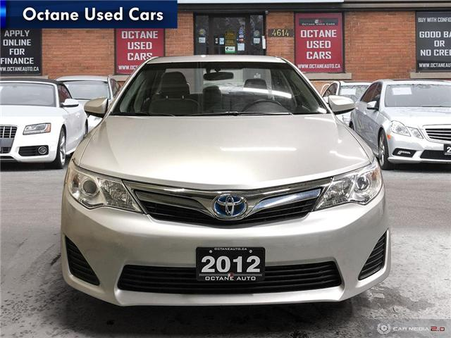 2012 Toyota Camry Hybrid LE (Stk: ) in Scarborough - Image 2 of 24