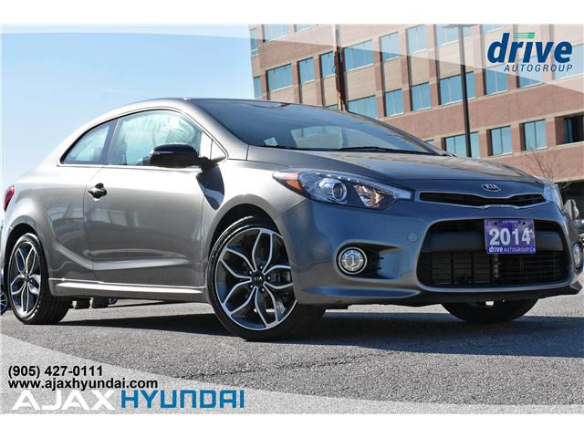2014 Kia Forte Koup 1.6L SX (Stk: 19501A) in Ajax - Image 1 of 27